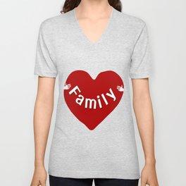 Family Unisex V-Neck