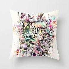 Interpretation of a dream - Tiger Throw Pillow