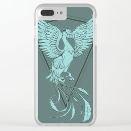 Phoenix - Paste Clear iPhone Case
