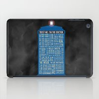 doctor iPad Cases featuring Doctor Who  by Luke Eckstein