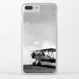 Consumed by smoke Clear iPhone Case