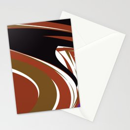 Africa - Abstract Stationery Cards