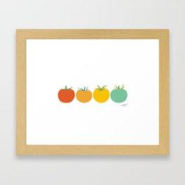 Tomatoes Framed Art Print