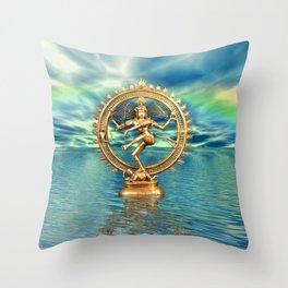 Shiva Nataraja Throw Pillow