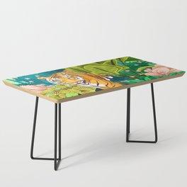 Jungle Tiger Coffee Table