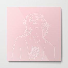 MATTY HEALY // PINK Metal Print