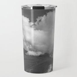 Volcano Chachani Covered by Clouds Travel Mug