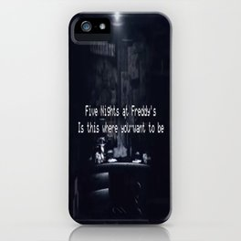 Five Nights At Freddy's iPhone Case