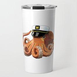 Captain Octopus  Travel Mug