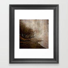 Matsqui on the Fraser River Framed Art Print
