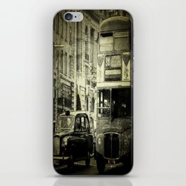 Buses & Taxis iPhone Skin