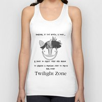 mlp Tank Tops featuring MLP: Twilight Zone by turokevie