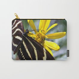 Zebra Longwing Feeding Carry-All Pouch