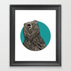 Beary Sketch Framed Art Print