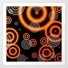 Disco Glow.  Art Print