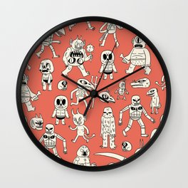 Demons Wall Clock