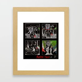 SARAH TONIN AND THE ITCH Framed Art Print
