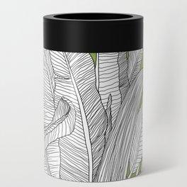 Banana Leaves Illustration - Green Can Cooler
