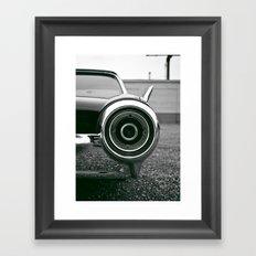 Classic T-bird taillight Framed Art Print