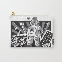 Vintage Robot Carry-All Pouch