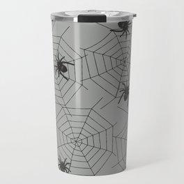 Hallween Spider web Travel Mug