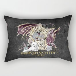 Bookis Winter is Here Rectangular Pillow