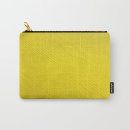 Yellow painted wood grain Carry-All Pouch