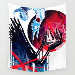 The Devil Wears Tiaras Wall Tapestry
