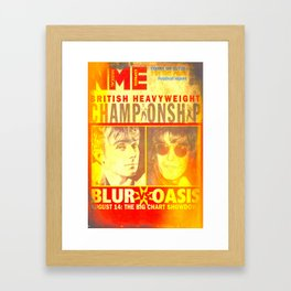 Country House Rolls With It Framed Art Print