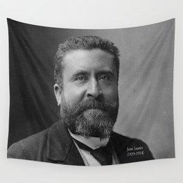 Portrait of Jean Jaurès By Nadar Wall Tapestry