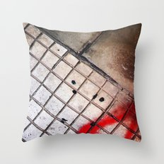 street geometry Throw Pillow