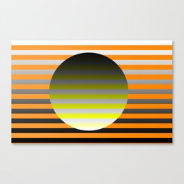 Spin Around In Circles Canvas Print