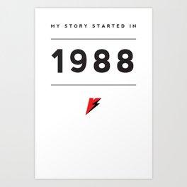 My Story Series (1988) Art Print