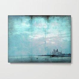 Ship Shape Metal Print