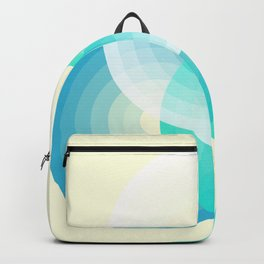 Three colour circles inverted, inspired by Lacouture's Répertoire chromatique Backpack