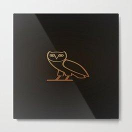 DRAKE Owl logo Metal Print
