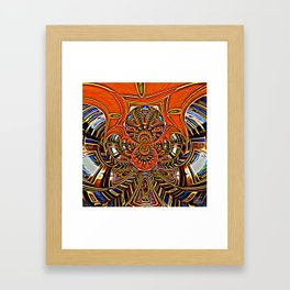 Subconscious Healing Frequency Framed Art Print