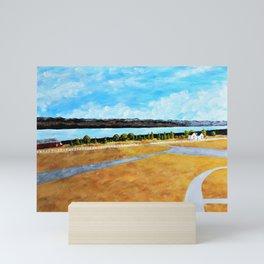 Seneca Lake by Mike Kraus Mini Art Print
