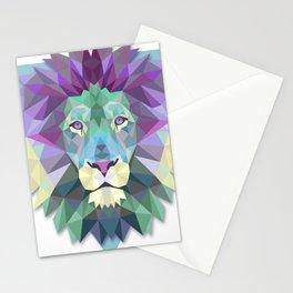 lion wild Stationery Cards