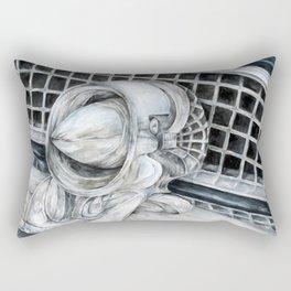 55 Thunderbird Classic Car Rectangular Pillow