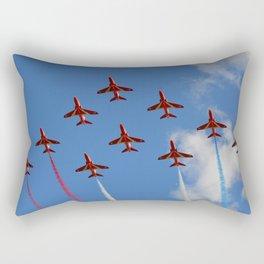 The Red Arrows 1/3 Rectangular Pillow