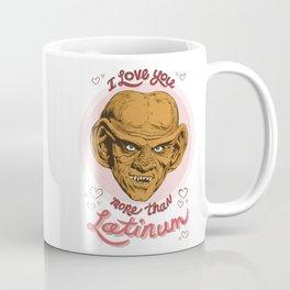 "Star Trek Valentine - ""I Love You More Than Latinum"" Coffee Mug"