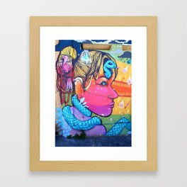 What Is On Your Mind Framed Art Print