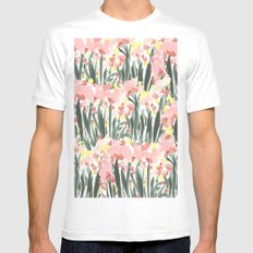 Ugly Garden Mens Fitted Tee White MEDIUM