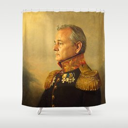 Bill Murray - replaceface Shower Curtain