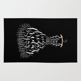 The Little Black Frid Dress Rug