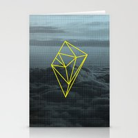 geometry Stationery Cards featuring Geometry by Geometry