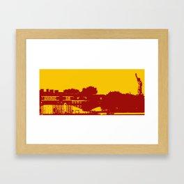 Governors Island Framed Art Print