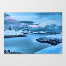 Clouds Roll In Canvas Print