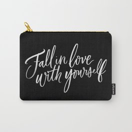 Fall in Love with Yourself Carry-All Pouch